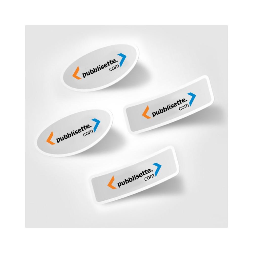 etichette rettangolari personalizzate