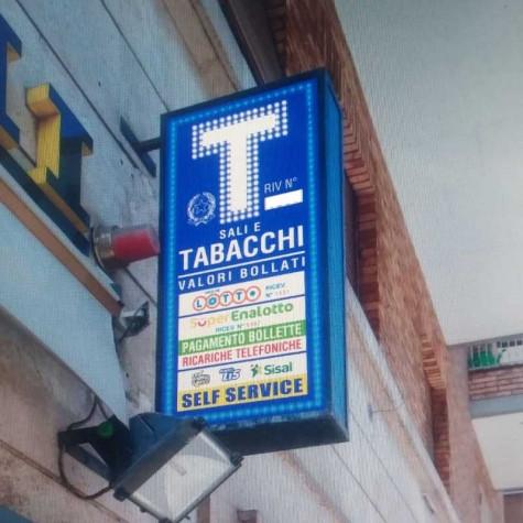 Insegna a Led Tabacchi