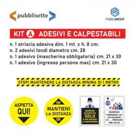 Adesivi Covid 19 C