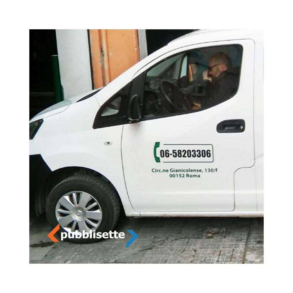 Brandizzazione furgone Basic