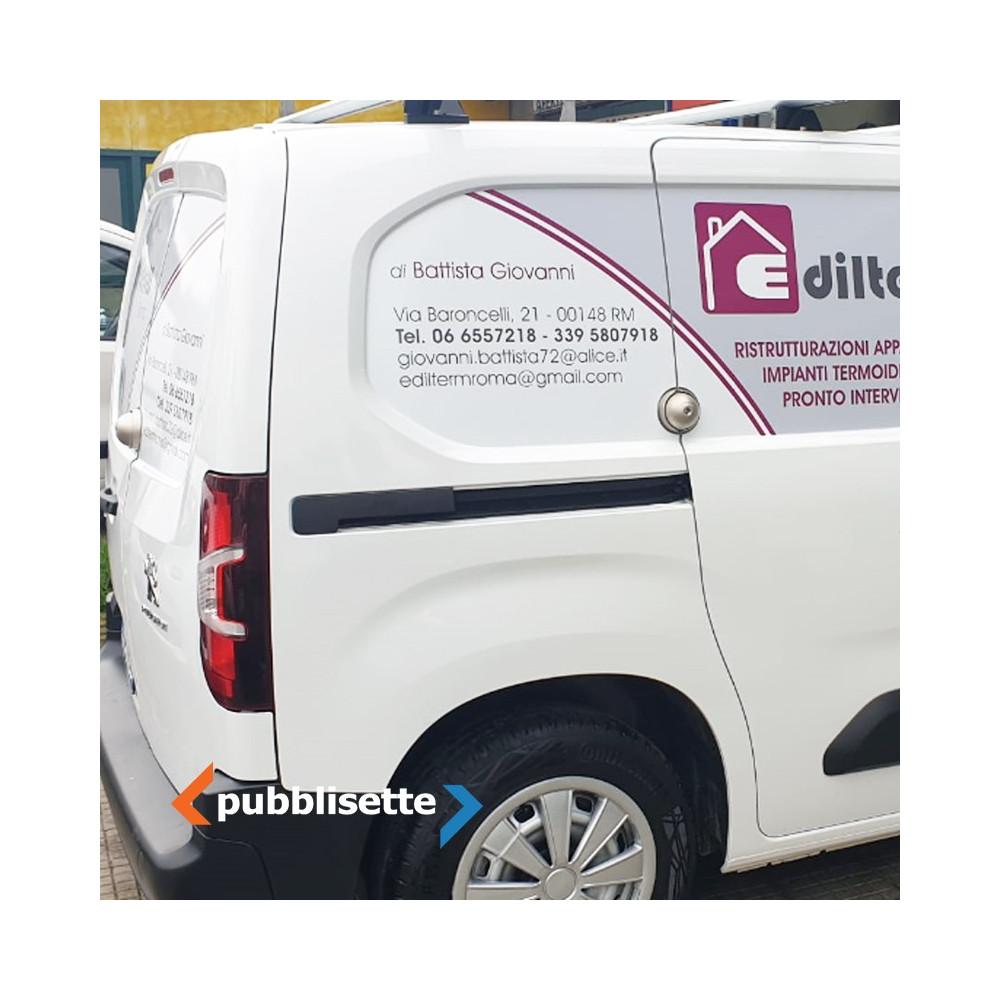 Brandizzazione furgone Medium