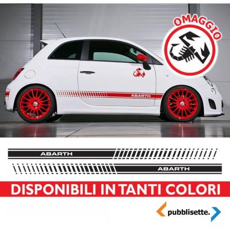 KIT FASCE ADESIVE ABARTH PER FIAT 500