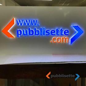 Logo 3D luminoso