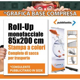 Roll-Up 85x200 personalizzato