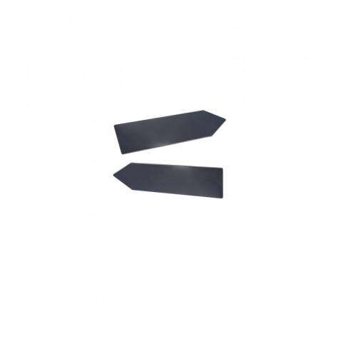 Tabella metallica stradale a freccia