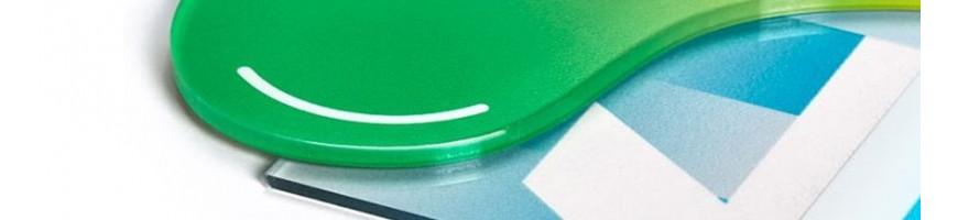 Cartelli in Plexiglass