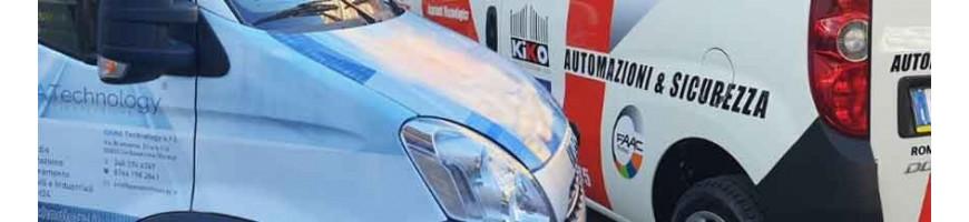 Wrapping pubblicitario su auto e furgoni